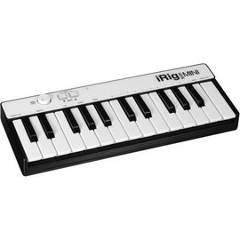 IK Multimedia IK Multimedia iRig Keys Mini 25-Key Midi Controller Keyboard for iOS Devices and Mac/PC