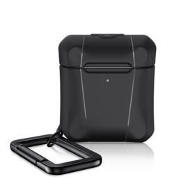 ItSkins ItSkins Spectrum Solid Case for Airpods 1st/2nd gen Black (NOT COMPATIBLE WITH AIRPODS PRO)