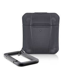 ItSkins ItSkins Spectrum Frost Case for Airpods 1st/2nd gen Black (NOT COMPATIBLE WITH AIRPODS PRO)