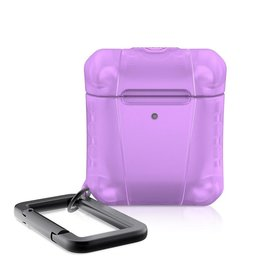 ItSkins ItSkins Spectrum Frost Case for Airpods 1st/2nd gen Light Purple (NOT COMPATIBLE WITH AIRPODS PRO)