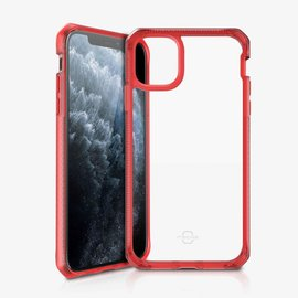 ItSkins ItSkins Hybrid Frost (MKII) Case for iPhone 11 Pro - Red/Transparent