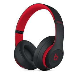 Beats Beats Studio3 Wireless Over‑Ear Headphones - Decade Collection - Defiant Black/Red