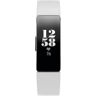 Fitbit Fitbit Inspire HR Fitness Wristband Tracker White/Black (inc 1 small & 1 large band each)