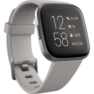 Fitbit *ON SALE CI$184* Fitbit Versa 2 Fitness Smartwatch - Mist Grey Aluminum w/ Stone Band WHILE SUPPLIES LAST
