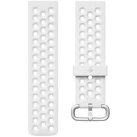 Fitbit Fitbit Versa2/Veraa Lite ONLY Accessory Band Sport Frost White Large