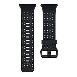 Fitbit Fitbit Ionic Accessory Band Perforated Leather Large Midnight Blue