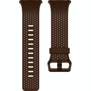 Fitbit Fitbit Ionic Accessory Band Perforated Leather Small Cognac