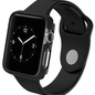 ZAGG ZAGG Invisible Shield Luxe Bumper for Apple Watch Series 1/2/3 38mm Matte Black (WSL)