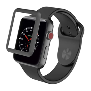 ZAGG ZAGG InvisibleShield Glass Luxe HD Clarity Screen Protector for Apple Watch Series 3 42mm Space Gray (WSL)