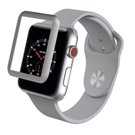 ZAGG ZAGG InvisibleShield Glass Luxe HD Clarity Screen Protector for Apple Watch Series 3 42mm Silver (WSL)