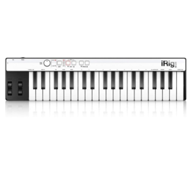 IK Multimedia IK Multimedia iRig Keys 37 Keys Universal mini keyboard controller for iPhone, iPad, Android and Mac/PC (WHILE SUPPLIES LAST)