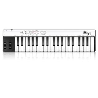 IK Multimedia IK Multimedia iRig Keys 37 Keys Universal mini keyboard controller for iPhone, iPad, Android and Mac/PC