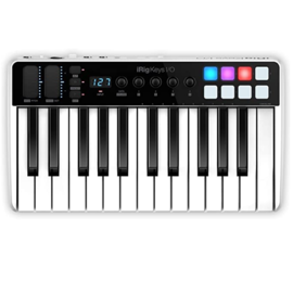 IK Multimedia IK Multimedia iRig Keys I/O 25 25-key Keyboard Workstation with Integrated Audio Interface