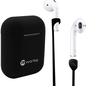 mworks! mworks! mCASE! Airpods Case Skin and Straps Bundle - Black (NOT COMPATIBLE WITH AIRPODS PRO)