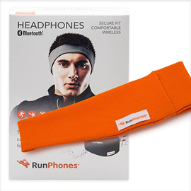 AcousticSheep Runphones® Wireless Headphones Wild Orchid Orange Medium (While Supplies Last)
