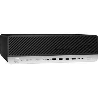HP HP EliteDesk 800 G5 SFF, i7-9700 3.0GHz, 16GB, 512GB SSD, DVD, W10P, Three year warranty