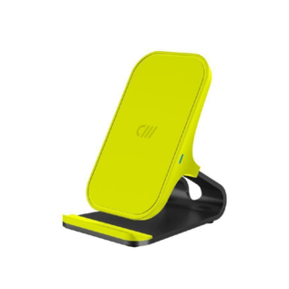 Candywirez Candywirez Qi Wireless Charger Stand - Neon Yellow