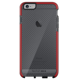 Tech21 Tech21 Evo Mesh Case for iPhone 6/6s Plus - Smokey/Red (While Supplies Last)