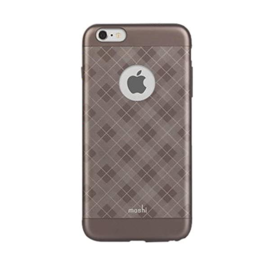 Moshi Moshi iGlaze Case for iPhone 6 Plus/6s Plus Tartan Walnut