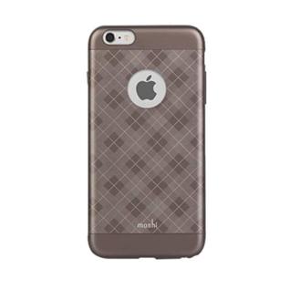 Moshi Moshi iGlaze Case for iPhone 6 Plus/6s Plus Tartan Walnut