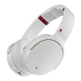 Skullcandy Skullcandy Venue Noise Cancelling Wireless Over-Ear Headphones White Crimson