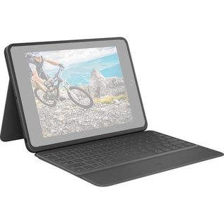 Logitech Logitech Rugged Folio Protective Keyboard Case for iPad 10.2 7th Gen - Black