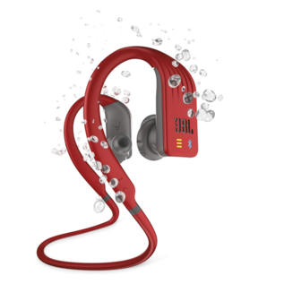JBL JBL Endurance Dive Waterproof Wireless Sports Headphones w/ MP3 player red