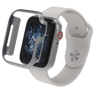 ZAGG ZAGG Invisible Shield Luxe Bumper for Apple Watch Series 4 40mm Silver