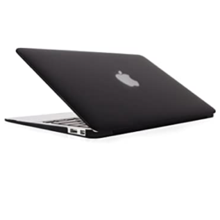 "Moshi Moshi iGlaze case for MacBook Air 11"" (2013) - Black ALL SALES FINAL - NO REFUNDS OR EXCHANGES"