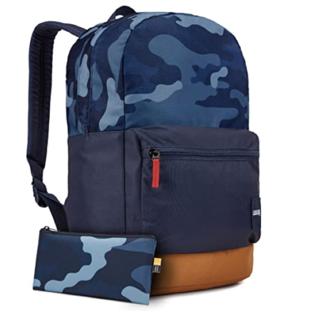 """Case Logic CaseLogic 24L Commerce Backpack 15"""" Dress Blue Camo/Cumin"""