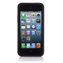 Just Mobile Just Mobile AluFrame Case for iPhone 5/5S Black (WSL) ALL SALES FINAL - NO REFUNDS OR EXCHANGES