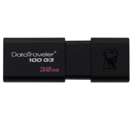 Kingston Kingston Data Traveler 100 G3 USB 3.0 Jump Drive - 32GB