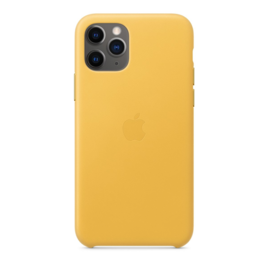 Apple Apple Leather Case for iPhone 11 Pro - Meyer Lemon