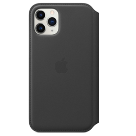 Apple Apple Leather Folio for iPhone 11 Pro - Black