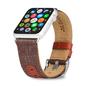 Evutec Evutec Northill Series Leather Watch Band for Apple Watch 38mm/40mm Brigandine/Lava