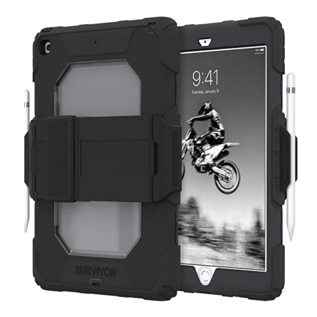 "Griffin Griffin Survivor All-Terrain Case for iPad 8th/7th gen 10.2"" -  Black/Black"