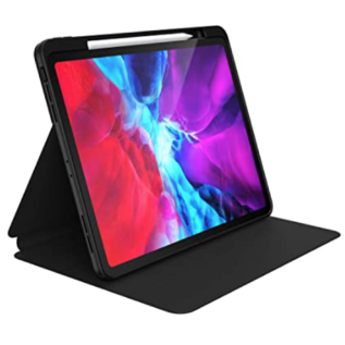 Speck Speck Presidio Pro Folio Case for iPad 12.9 Pro 3rd/4th gen ONLY - Black/Black