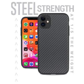 Evutec Evutec Karbon Black AER Series Case w/ Car Vent Mount for iPhone 11