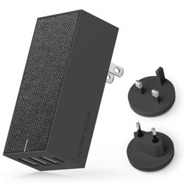 Native Union Native Union Smart Wall Charger - 3 USB Ports, 1 USB-C Port - 5.4A - Gray (WSL)