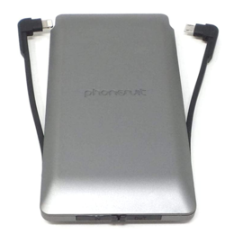 Phonesuit Phonesuit Journey Travel Charger Max 10,000 mAh Gray