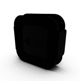 OWC H-Squared Mounting Acrylic Tray for 4th Gen Apple TV