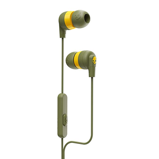 Skullcandy Skullcandy Ink'd+ Wired In-ear Earbuds w/mic Olive (No returns once opened for In-Ear devices)