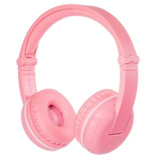 BuddyPhones BuddyPhones Play Noise Limiting Kids Wireless On Ear Headphones w/Mic Pink Sakura