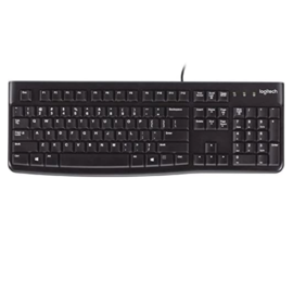 Logitech Logitech Wired Keyboard K120 Black WINDOWS/PC COMPATIBLE ONLY