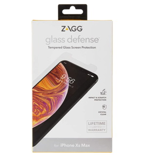 ZAGG ZAGG InvisibleShield Glass Defense Screen Protector - iPhone 11 Pro Max/Xs Max (While Supplies Last)