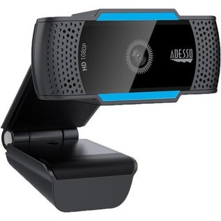 Adesso Adesso Cybertrack H5 Auto Focus 1080P USB webcam with microphone and privacy cover