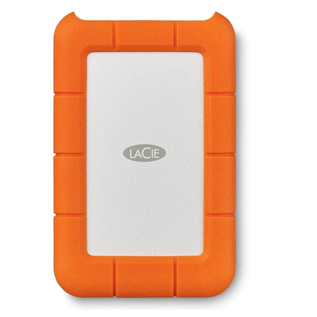 LaCie LaCie 1TB Rugged USB-C External Hard Drive (includes USB-C to USB adapter cable)