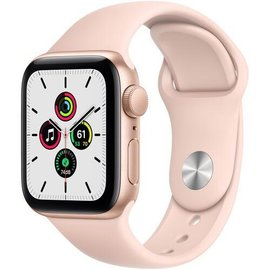 Apple Apple Watch SE (GPS, 40mm, Gold Aluminum, Pink Sand Sport Band) **NEW ITEM - COMING SOON - BACKORDERS ALLOWED**