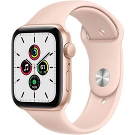 Apple Apple Watch SE (GPS, 44mm, Gold Aluminum, Pink Sand Sport Band) **NEW ITEM - COMING SOON - BACKORDERS ALLOWED**