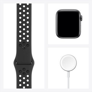 Apple Apple Watch Nike SE (GPS, 40mm, Space Gray Aluminum, Anthracite/Black Nike Sport Band)
